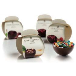 Félgömb csokoládé 1 db-os díszdobozban (tejcsokoládé)